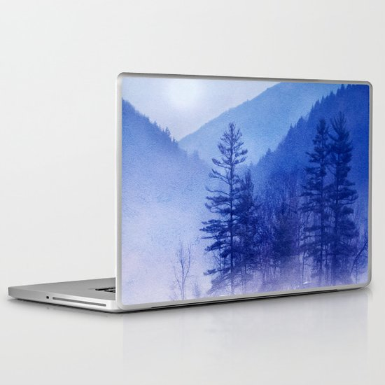 mystic sunrise II Laptop & iPad Skin