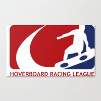 Hoverboard Racing League Canvas Print