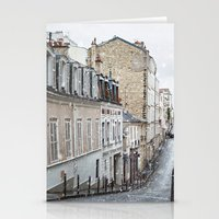 Montmartre, Paris. Stationery Cards