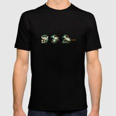 The Legend of Zelda Mens Fitted Tee Black SMALL