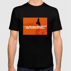 Hamlet-  North by Northwest - Madness - Shakespeare Quote Art SMALL Mens Fitted Tee Black