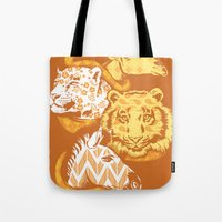 Animal Prints Tote Bag