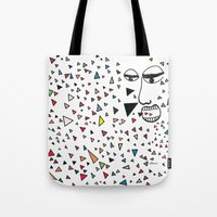 Sick of happiness Tote Bag
