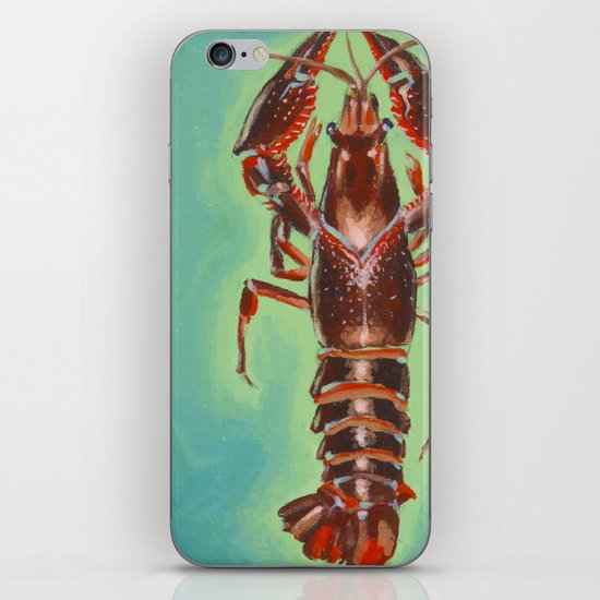 Lucky Crayfish iPhone & iPod Skin