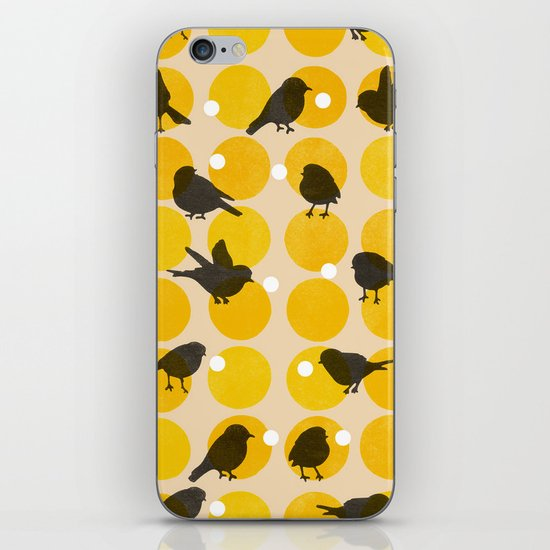 Birdsong Yellow iPhone & iPod Skin
