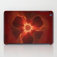 Fire Flower iPad Case