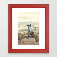 Saruyama Monkeys, Kyoto Framed Art Print
