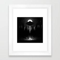 Drawlloween 2014: Alien Framed Art Print