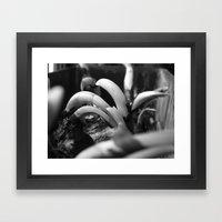 onions  Framed Art Print