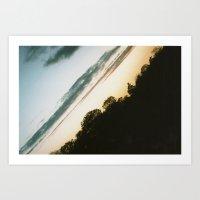 Diagonal (Norfolk) Lands… Art Print