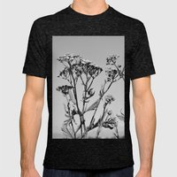 Weeds Mens Fitted Tee Tri-Black SMALL