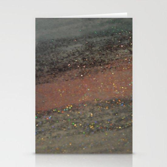 Glitter Stationery Card