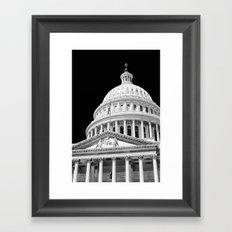 The Capitol  Framed Art Print