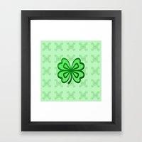 Lucky Charm Framed Art Print