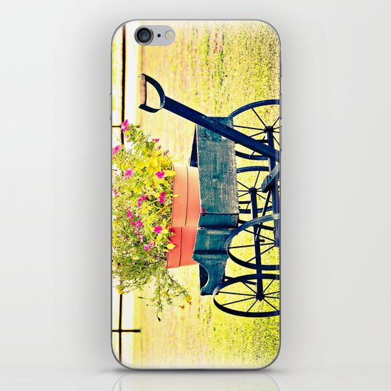 Blooming Wagon iPhone & iPod Skin