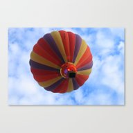 Canvas Print featuring Balloon  by Christine Baessler