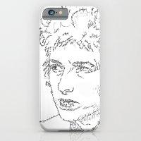 iPhone & iPod Case featuring Bob Dylan WordsPortrait  by WordsLines
