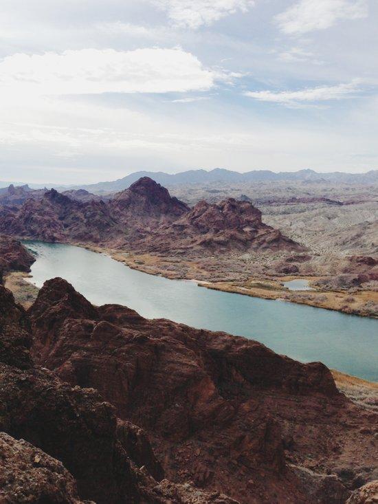 The Colorado River Art Print