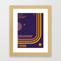 pioneer single hop Framed Art Print