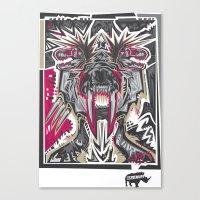 PRIMAL Canvas Print