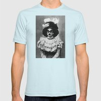 Mad Hatter Mens Fitted Tee Light Blue SMALL