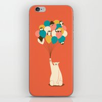 Penguin Bouquet iPhone & iPod Skin