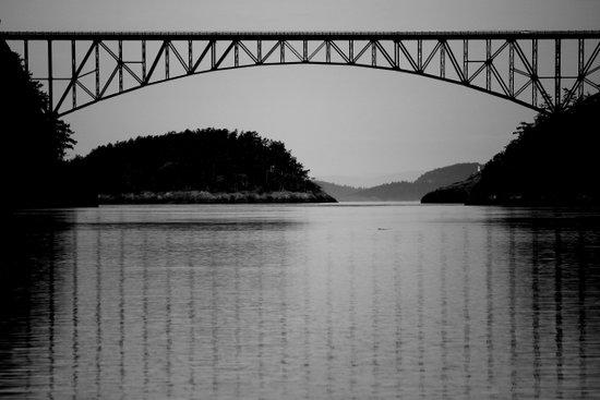Bridge over Peaceful Waters Art Print