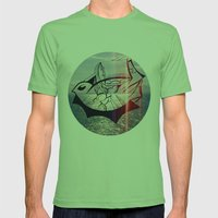 Bird's Eye Mens Fitted Tee Grass SMALL