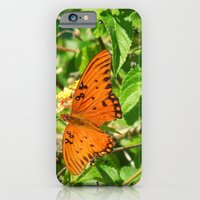 iPhone Cases featuring A Splash of Orange by Lady Tanya bleudragon