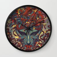Fountainhead Wall Clock
