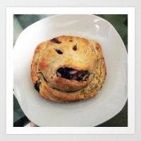 tuff pastry Art Print