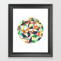 Overflow Framed Art Print