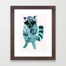 I Eat Cat Chow Framed Art Print