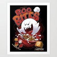 Boo Bites Art Print