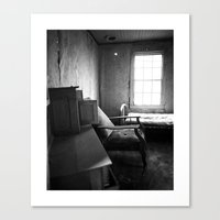 Solitude Chair Canvas Print