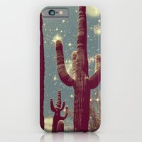 iPhone & iPod Case featuring Space Cactus by Eveline