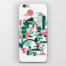 A sunny morning in Milan iPhone & iPod Skin