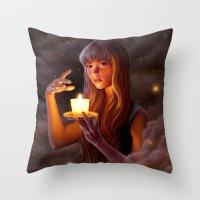 Dreamlight Throw Pillow