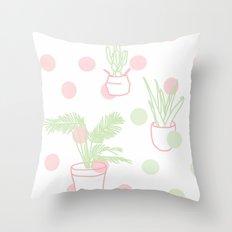 Plants, 2014. Throw Pillow