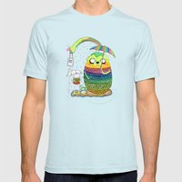 Adventure Time Totoro By… Mens Fitted Tee Light Blue SMALL