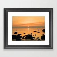 Sunset Ayrshire Coast (S… Framed Art Print
