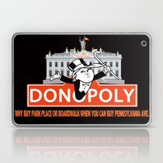 Donopoly: Why buy Park Place or Boardwalk when you can buy Pennsylvania Avenue! Laptop & iPad Skin