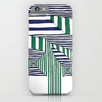 stripes iPhone & iPod Cases featuring Stripes by Take Five