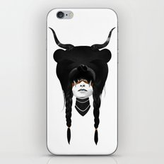 Bear Warrior iPhone & iPod Skin