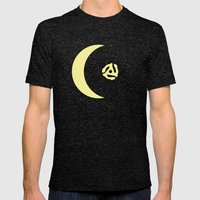 Revolution in Space Mens Fitted Tee Tri-Black SMALL