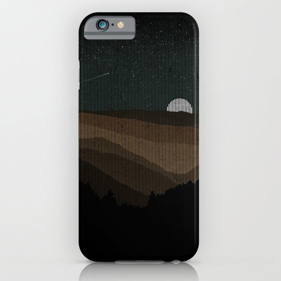 Moonrise (Sepia) iPhone & iPod Case
