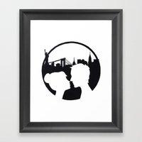 New York Love Framed Art Print