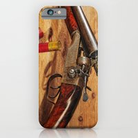 iPhone & iPod Case featuring Old Double Barrel Stevens by Captive Images Photography
