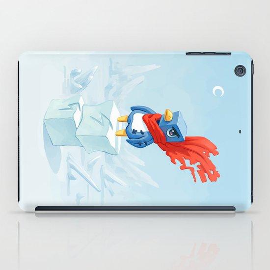 Super Penguin iPad Case