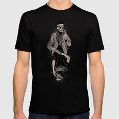 Dead Game SMALL Black Mens Fitted Tee